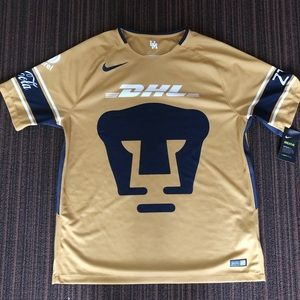 Authentic UNAM Pumas Soccer Jersey Size XL